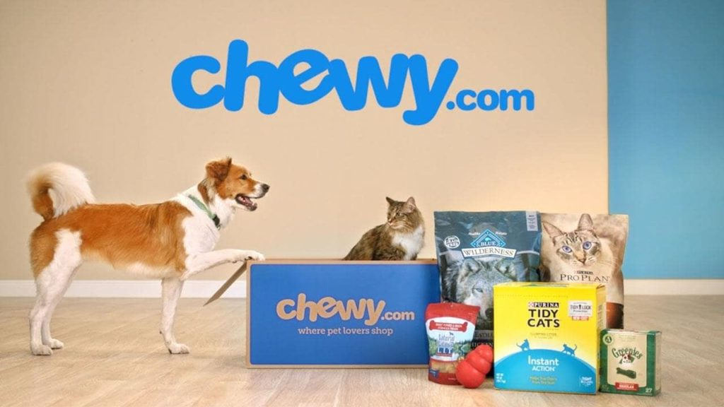 chewy com dog food online retailer