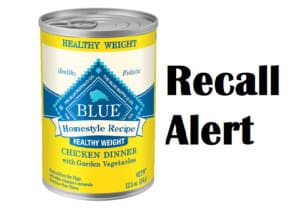 According to scientists the Blue Buffalo food for dogs recall related to aluminum defects