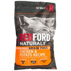 Redford dog food brand is an example of healthy eating for the furry companions
