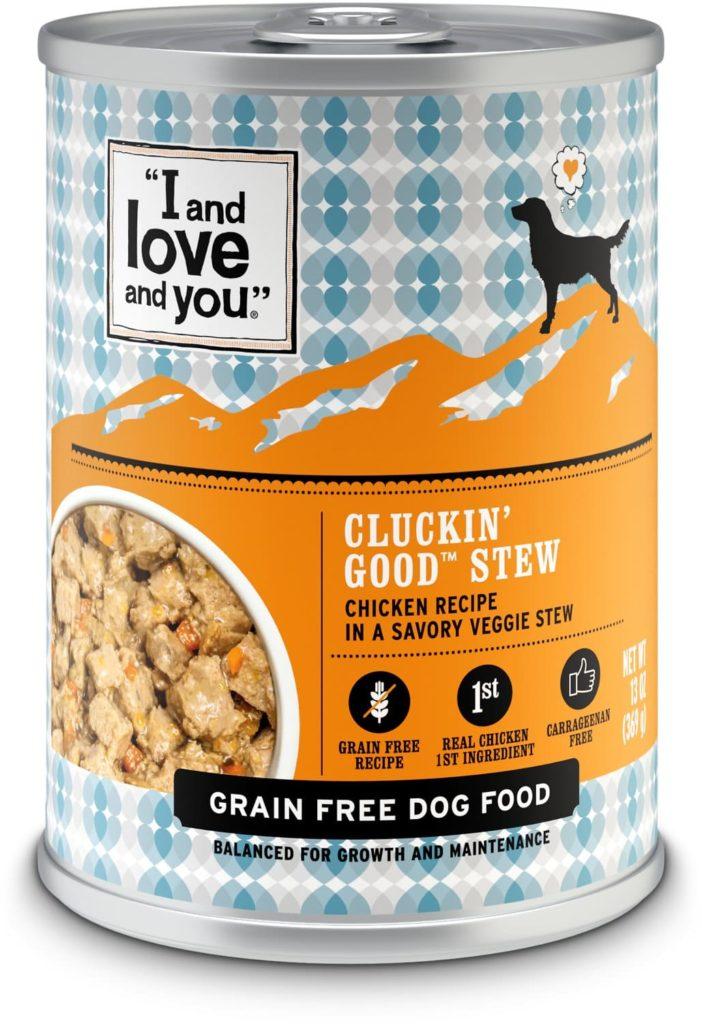Allergy safe grain free dog food