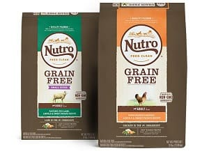 Nutro dog food grain free for adult dogs
