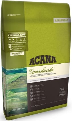 ACANA Grasslands rich inclusions of meat