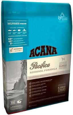 ACANA PACIFICA for adult dogs and puppies of all breeds grainless with fish