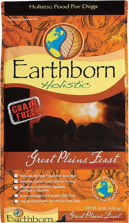 Earth Born Complete Great Plains Feast Cereal Free Organic Dehydrated Pooch Diet.