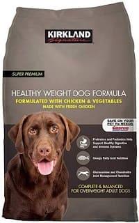 low-fat specia Kirkland-dog dietary feed