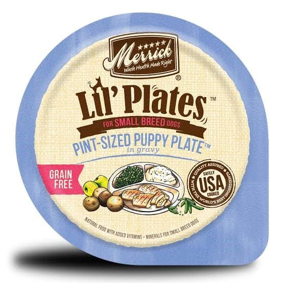 Merrick Lil'Plates Cereal Free Pint Size Mini Pooch Plate