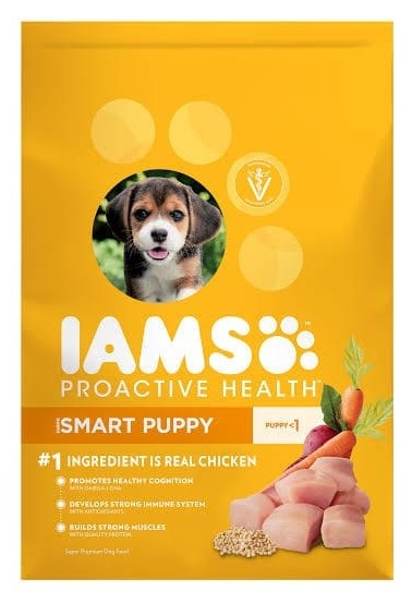 Iams Proactive Health Poultry Meat Dry Mini Pooch Feed