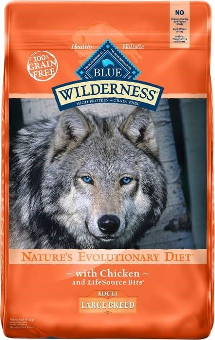 Blue Wilderness Proteinic Nutrient fortified Cereal Free Feed
