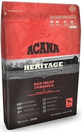 Acana dog food red meat formula have the freshest quality