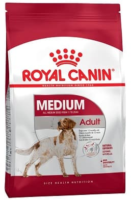 Natural nutrition Royal Canin for adult dogs