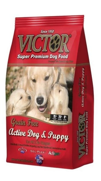 Victor dog food reviews for active dog & puppy