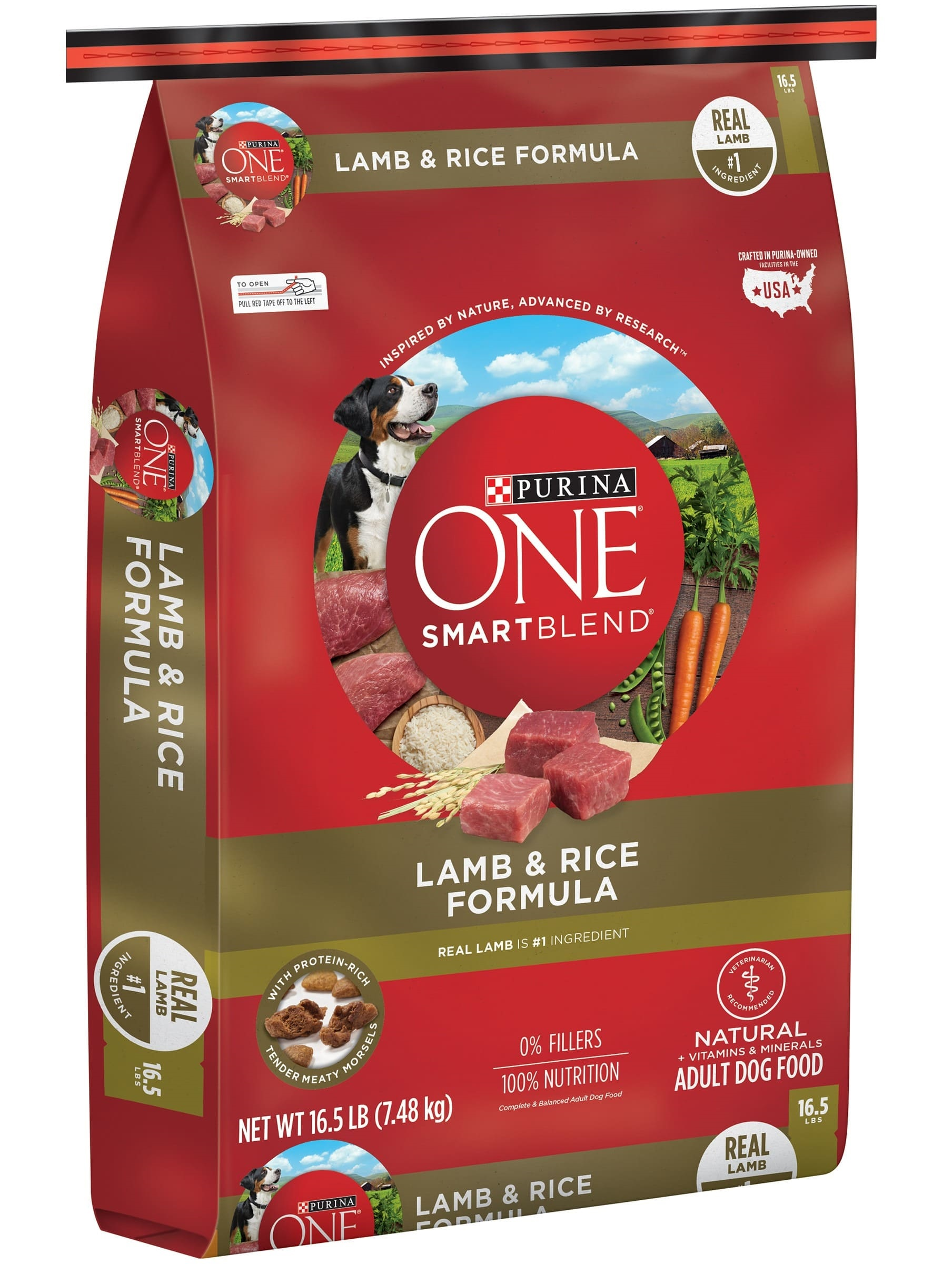 One Smart Blend is well-balanced for adult dogs