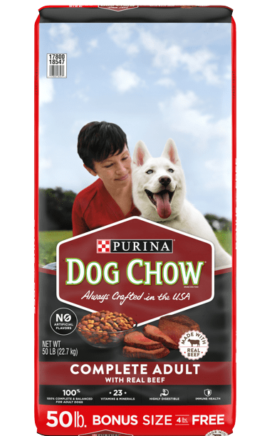 Purina dog chow recalls for adult and senior dogs